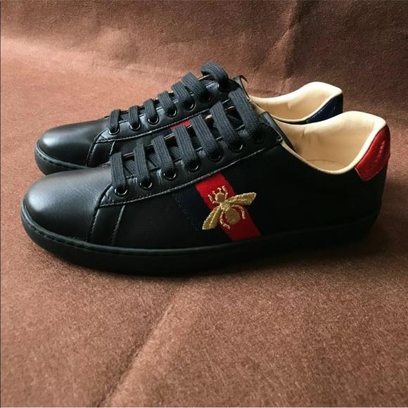 Jordan Shoes | Gucci Ace Black Bee
